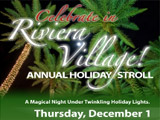 2011 Riviera Village Holiday Stroll, Thursday December 1st