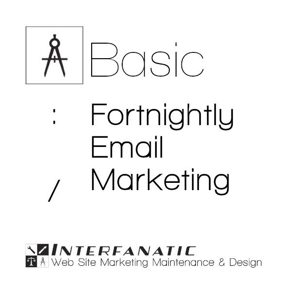 Interfanatic Basic Fortnightly Email Marketing