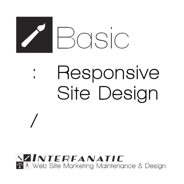Interfanatic Basic Responsive Site Design
