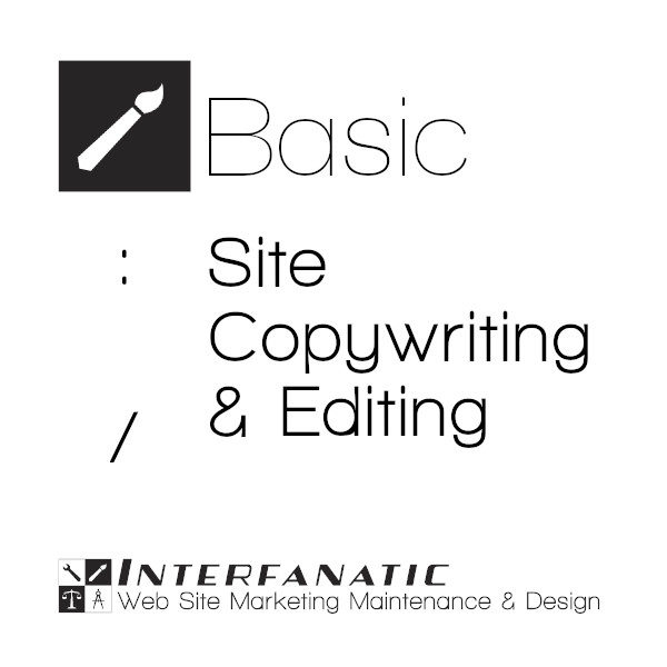 Interfanatic Basic Site Copywriting & Editing