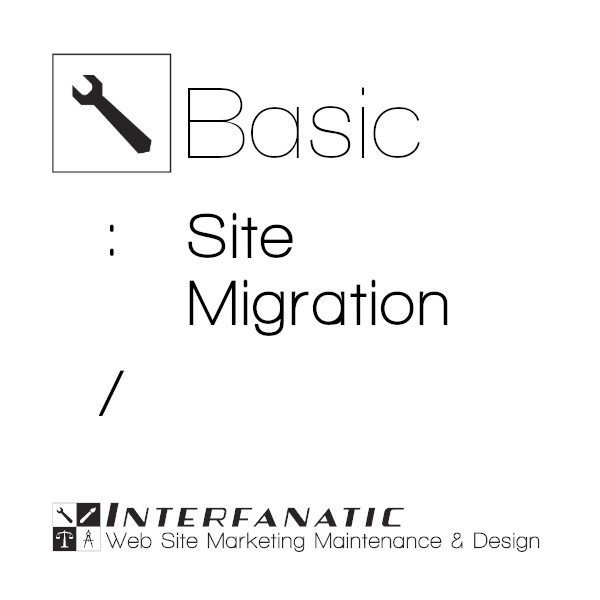 Interfanatic Basic Site Migration