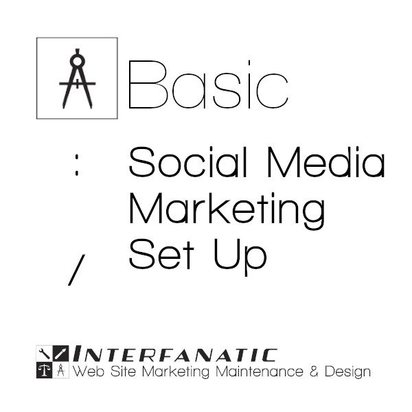 Interfanatic Basic Social Media Marketing Account Set Up