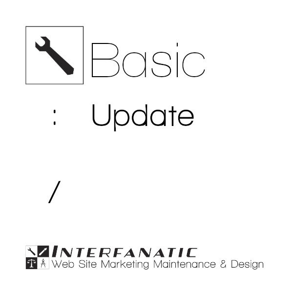 Interfanatic Basic Maintenance Update