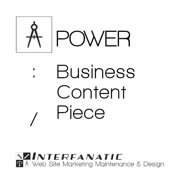 Interfanatic Power Business Content Piece