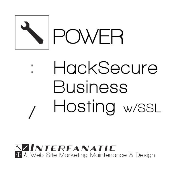 Interfanatic Power HackSecure Business Hosting with SSL