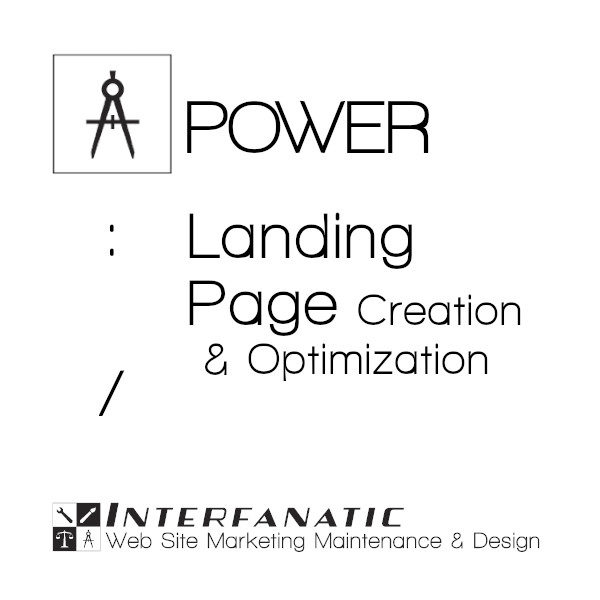 Interfanatic Power Landing Page Creation & Optimization