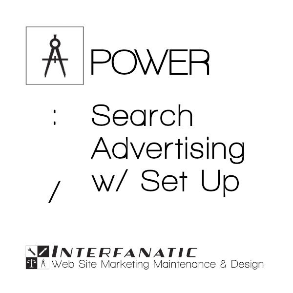 Interfanatic Power Search Advertising with Set Up
