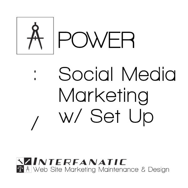 Interfanatic Power Social Media Marketing with Set Up
