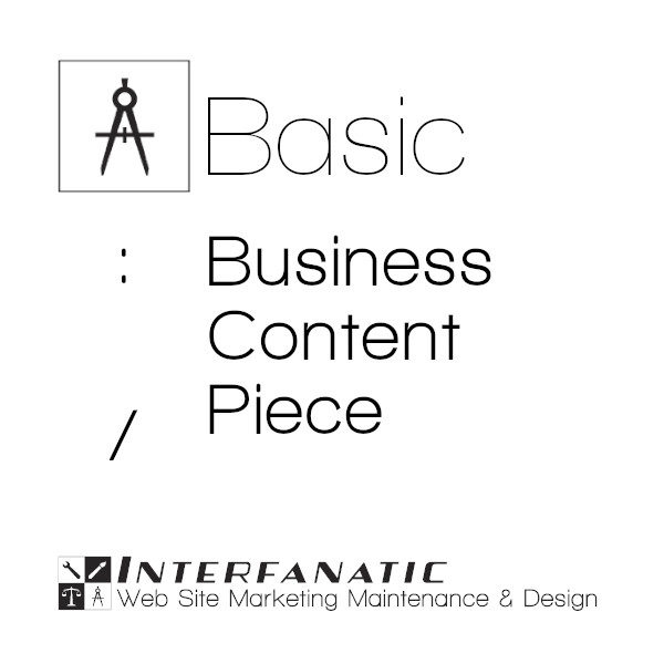 Interfanatic Basic SEO Business Content Piece