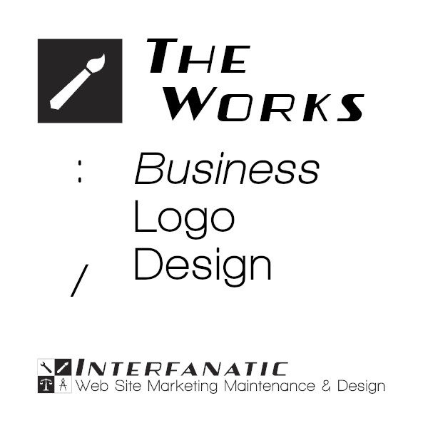 Interfanatic The Works Business Logo Design