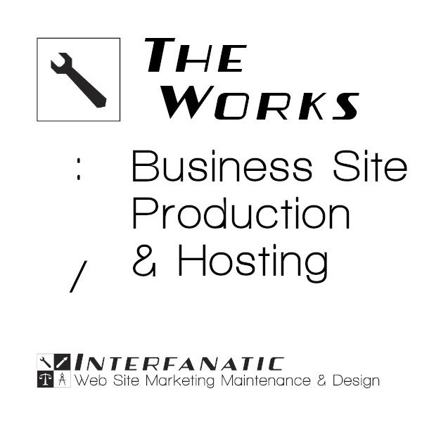 Interfanatic The Works Business Site Production Hosting