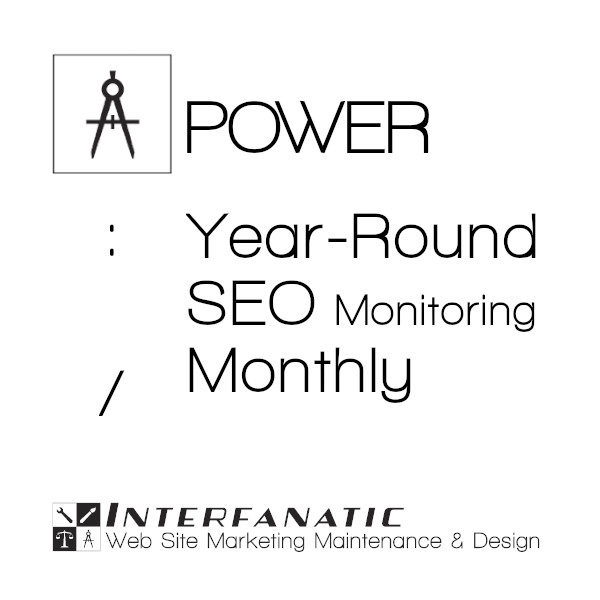 Interfanatic Power Monthly SEO Monitoring