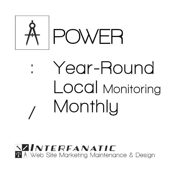 Interfanatic Power Year Round Local Marketing Monthly Reports
