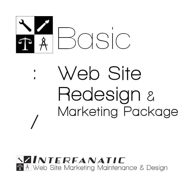 Interfanatic Basic Webite Redesign Marketing Package