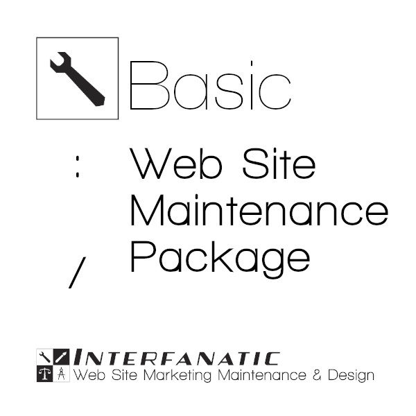 Interfanatic Basic Website Maintenance Package
