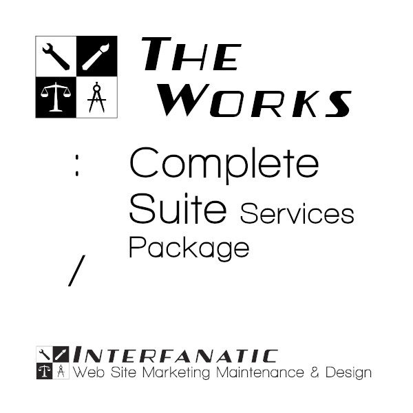 Interfanatic The Works Complete Suite Services Web Site Digital Marketing Package