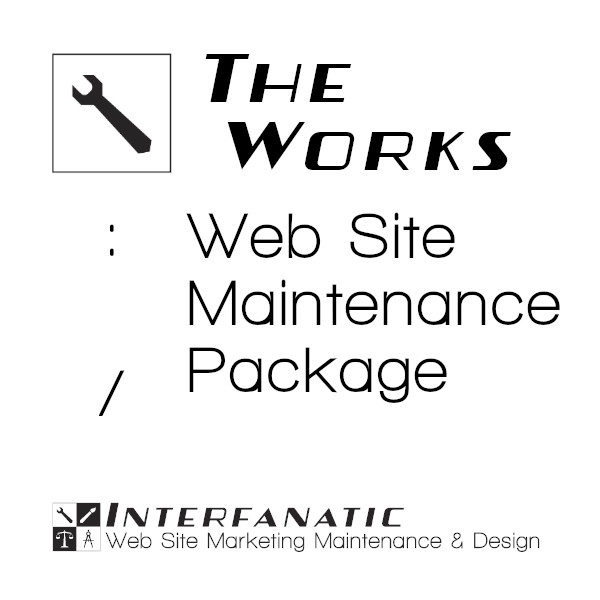 Interfanatic The Works Website Maintenance Packaged Services