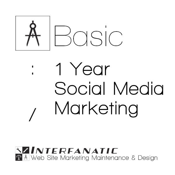 1 Year Interfanatic Basic Social Media Marketing