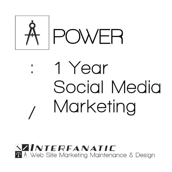 1 Year Interfanatic Power Social Media Marketing