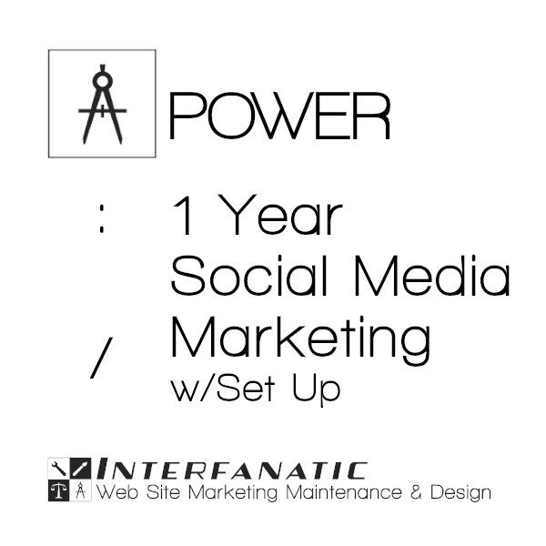 1 Year Interfanatic Power Social Media Marketing with Set Up