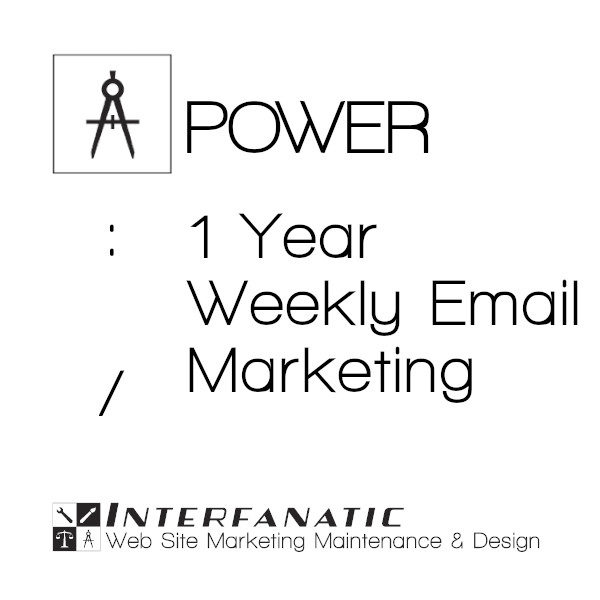 1 Year Interfanatic Power Weekly Email Marketing
