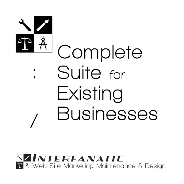 Interfanatic Complete Suite Packages for Existing Businesses