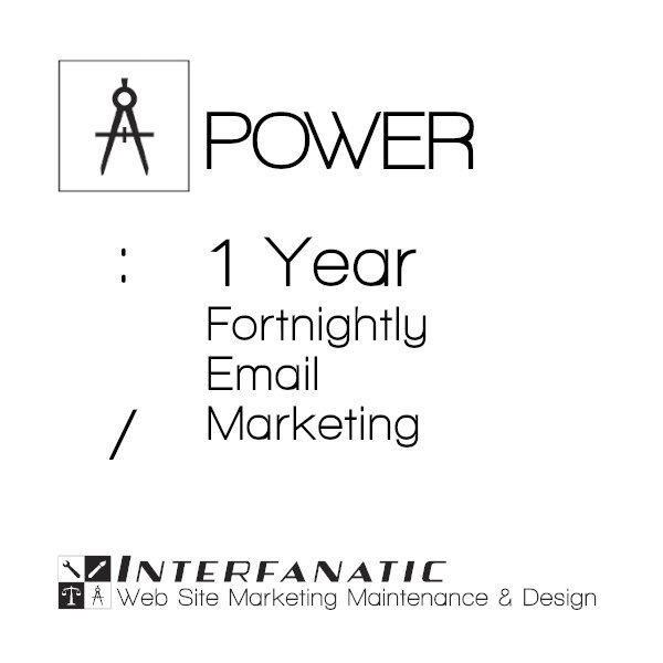 1 Year Interfanatic Power Fortnightly Email Marketing