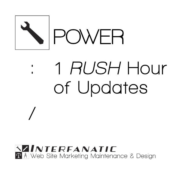 Interfanatic Power Rush Site-Production and Maintenance Labor