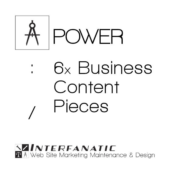 Interfanatic Power SEO Business Content Pieces