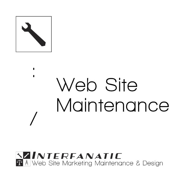 Interfanatic Packages for Website Maintenance & Updates