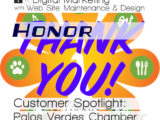 Interfanatic Customer Spotlight: Palos Verdes Peninsula Chamber of Commerce - Honor