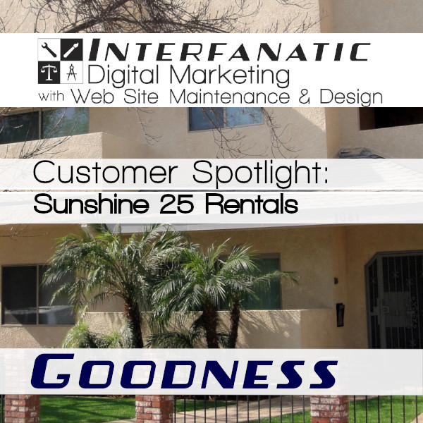 Sunshine 25 Rentals - Goodness: The Interfanatic Customer Spotlight - Karen Greenberg