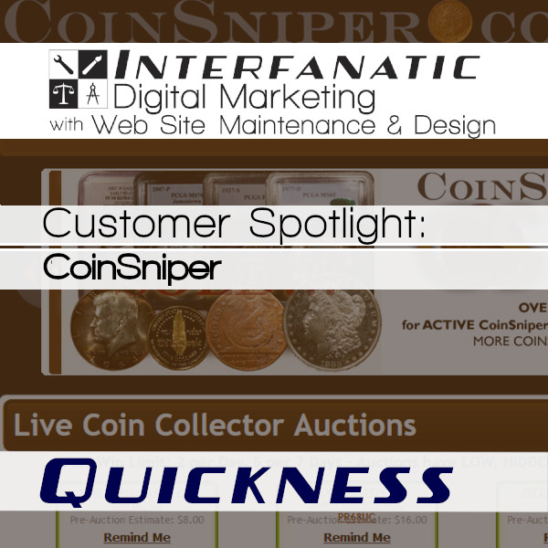 CoinSniper : Interfanatic Customer Spotlight on Quickness