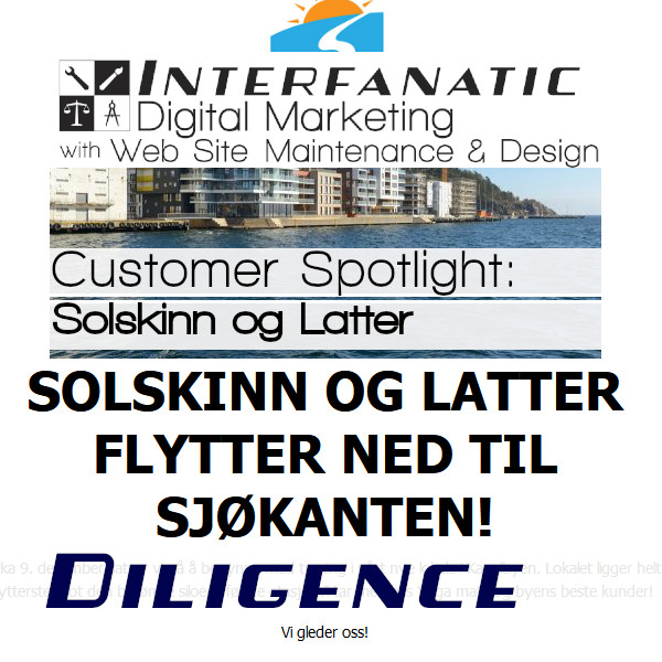 Solskinn og Latter : Interfanatic Customer Spotlight on Diligence