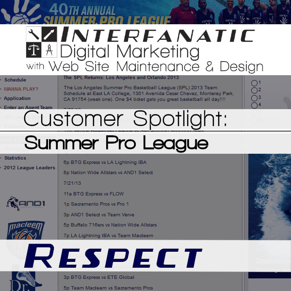 Summer Pro League: Interfanatic Customer Spotlight on Respect