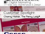 The Penny Lady®, Customer Spotlight on Order, an Interfanatic Quality, of Charmy Harker, Seller of Collectible Cents and Coins through ThePennyLady.com