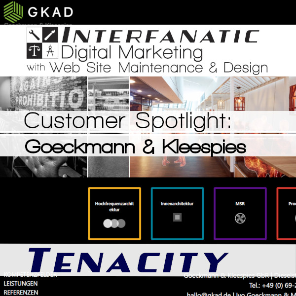 GKAD.de, Customer Spotlight on Tenacity, an Interfanatic Quality