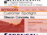 SiteCon Concrete - for our Customer Spotlight on Strength, an Interfanatic Quality