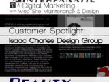 Isaac Charles Design Group - for our Customer Spotlight on Beauty, an Interfanatic Quality