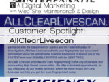All Clear LiveScan, for our Customer Spotlight on Efficiency, an Interfanatic Quality