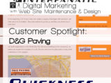 D&G Paving, for our Customer Spotlight on Quickness, an Interfanatic Quality