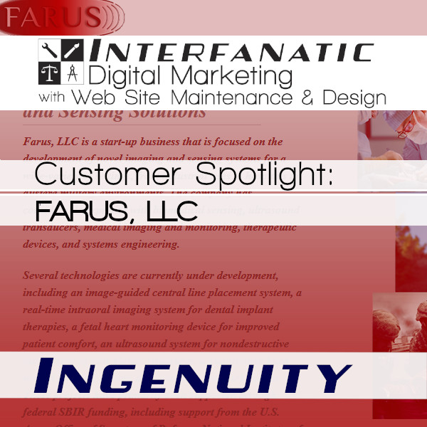 FARUS, for our Customer Spotlight on Ingenuity, an Interfanatic Quality