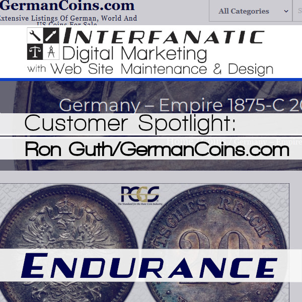 Ron Guth for our Customer Spotlight on Endurance, an Interfanatic Quality