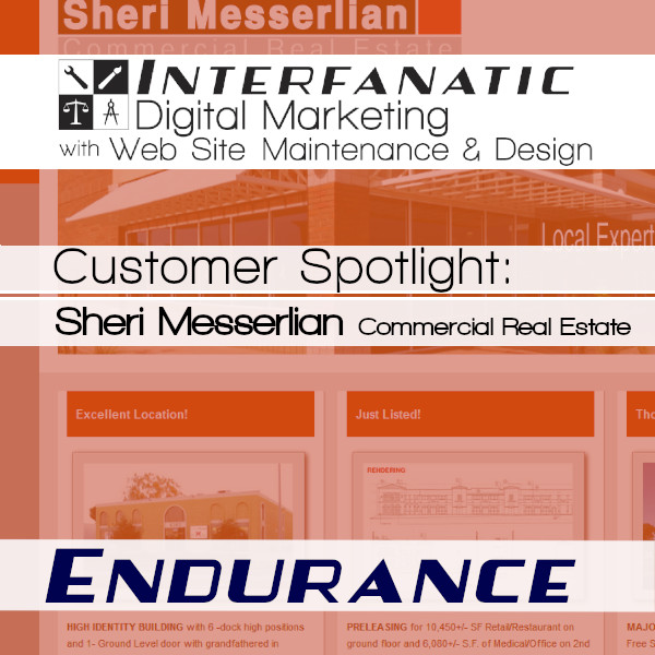 Sheri Messerlian, for our Customer Spotlight on Endurance, an Interfanatic Quality