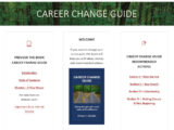 Career Change Guide, for our Customer Spotlight on Wisdom, an Interfanatic Quality